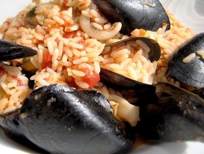 Seafood Risotto with Thermomix