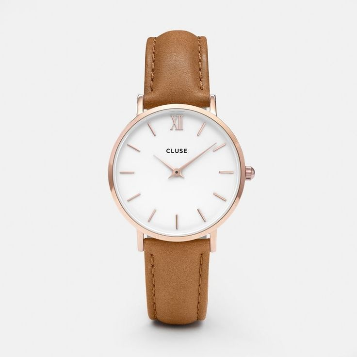 Minuit Rose Gold White/Caramel CL30021