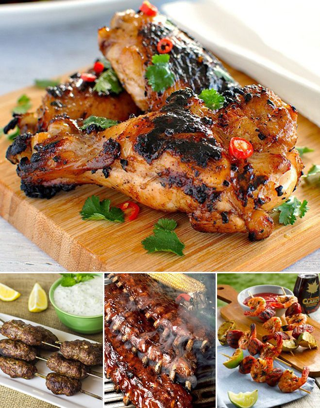 What better way to make the most of the good weather, than by cooking some super-sexy BBQ food? We've got recipes for chicken avocado burgers, steak skewers and some mouth-watering Mexican corn.