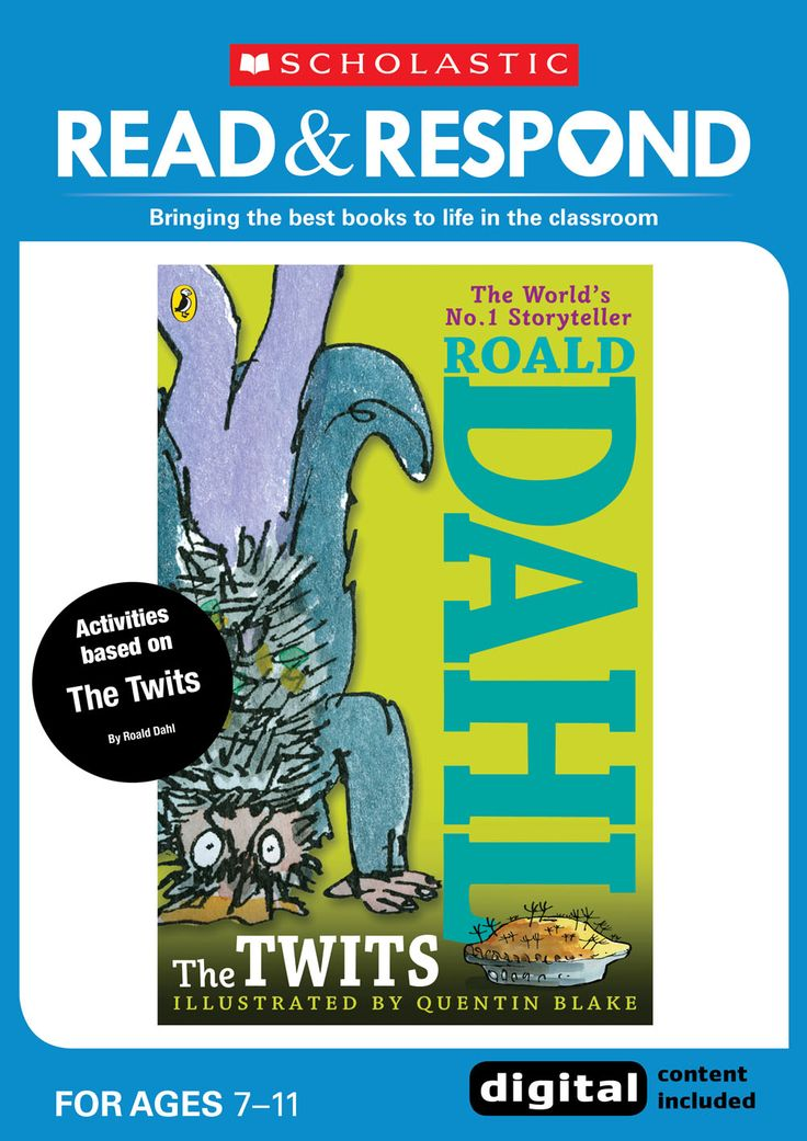 The Twits - Anything by Roald Dahl will always be a crowd-pleaser, and easy-to-read The Twits is definitely no exception. The detailed character descriptions allows for discussion about the benefits of repetition and is a good test of children's comprehension. Sharing their own descriptions of the disgusting Twits is always a fun creative writing activity for pupils.