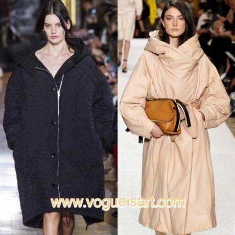 2014-2015 F/W fashion,2014-2015 Sonbahar/kış modası,2014-2015 Sonbahar/kış moda trendleri,2014-2015 Sonbahar/kış kadın modası,Duvet coat,XXL Anorak,anorak modası,2015 manto modası