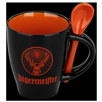 Jager coffee mug and spoon..