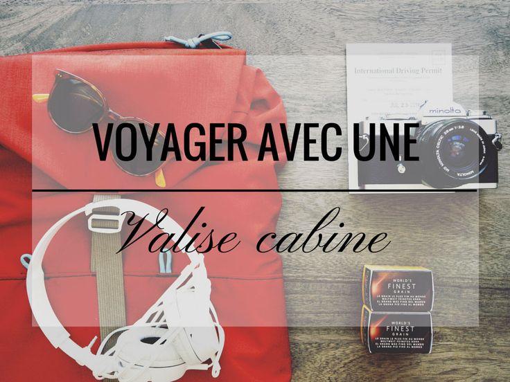 Oui, partir en voyage avec une valise cabine seulement, c'est possible ! Si toi aussi t'as la hantise de la valise perdue, viens lire cet article !