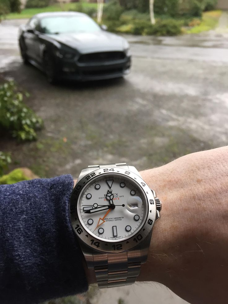 Polar Rolex Explorer II
