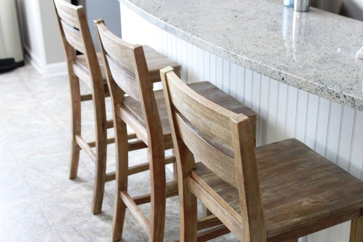 Küche Möbel Rustikalen Ikea Holz Counter Stuhl Mit Arm ...