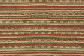 Woven Olefin Outdoor Fabric in Fiesta Stripe