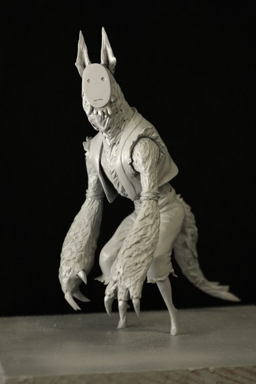 Hungry Wolf Maquette on Behance