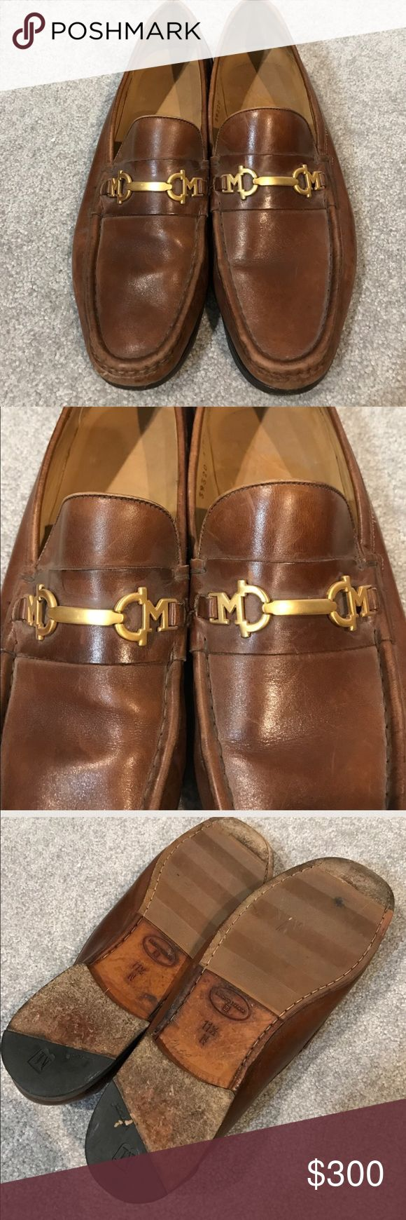 BRUNO MAGLI LOAFERS 11.5. N BRUNO MAGLI LOAFERS 11.5. N  still a lot of life left in these shoes. It brought to a shoemaker to clean up they would look fabulous.  But does not need to be brought there to wear. Bruno Magli Shoes Loafers & Slip-Ons