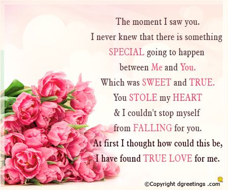 Get a wide array of love you messages by simply clicking here.