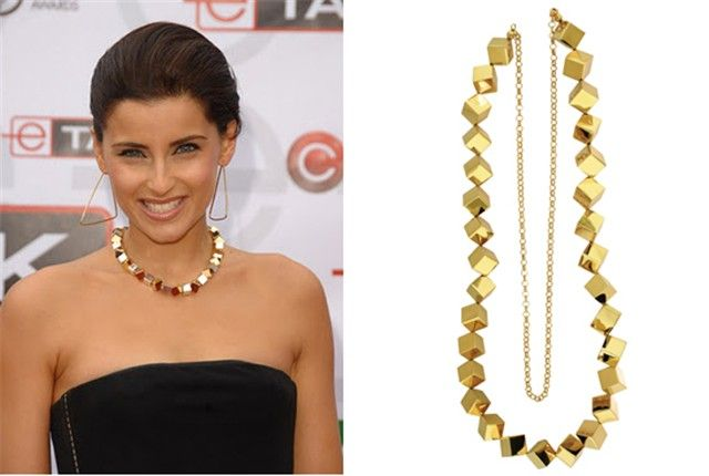 Nelly Furtado collar Mexican Geometry Daniel Espinosa.