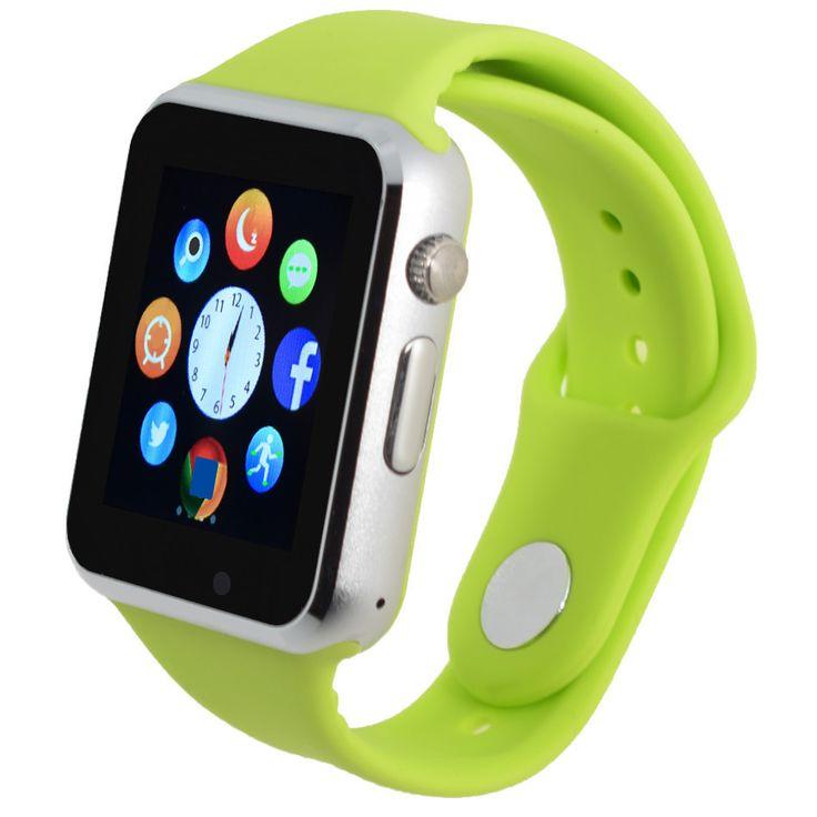 שעוני יד ספורט מד צעדים עם smartwatches המצלמה ה-sim bluetooth smart watch עבור אנדרואיד smartphone רוסית מחשבון