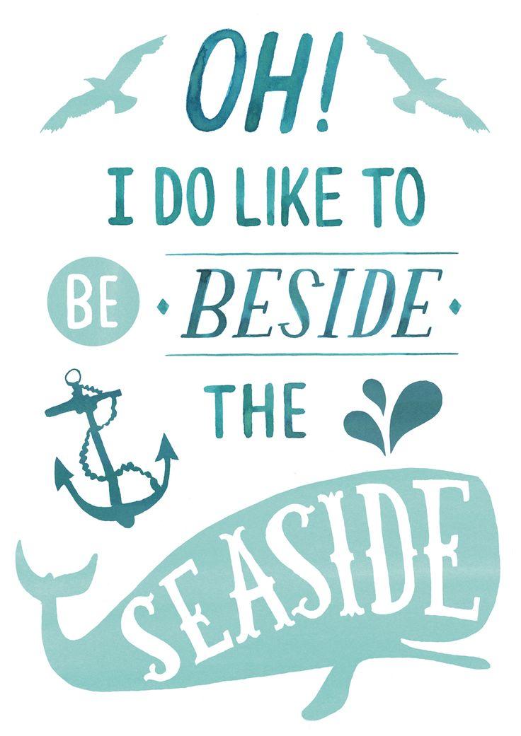Rachel Stubbs | Oh I Do Like To Be Beside The Seaside...