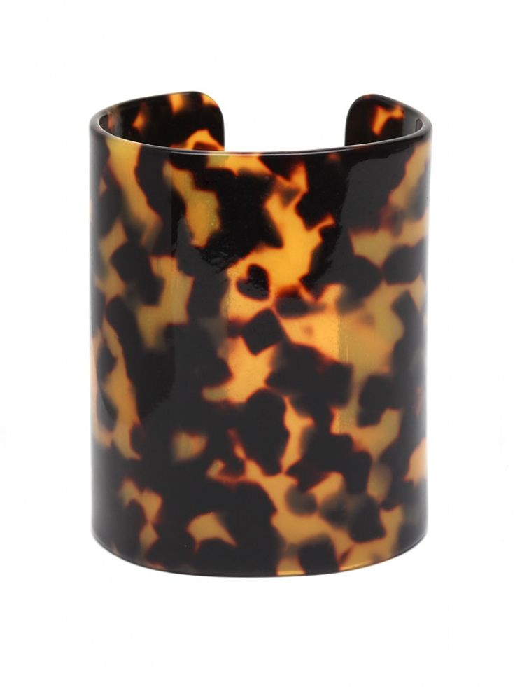 Tortoise Cuff. This is a must to accent any wardrobe. I can see this with your basic black, grey or any neutral color.