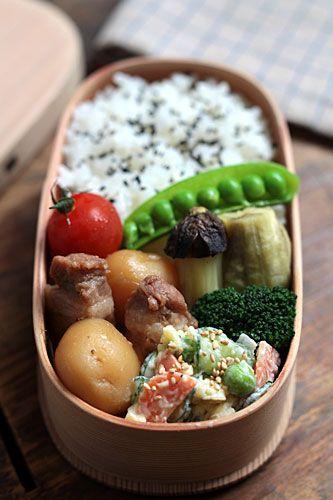 連日の芋弁 - DAY BOOK LUNCH