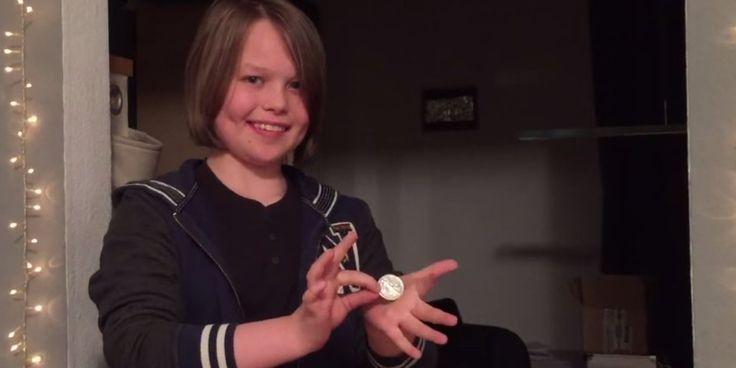 Des tours de magie avec une pièce par une fillette de 15 ans [video] - http://www.2tout2rien.fr/des-tours-de-magie-avec-une-piece-par-une-fillette-de-15-ans-video/