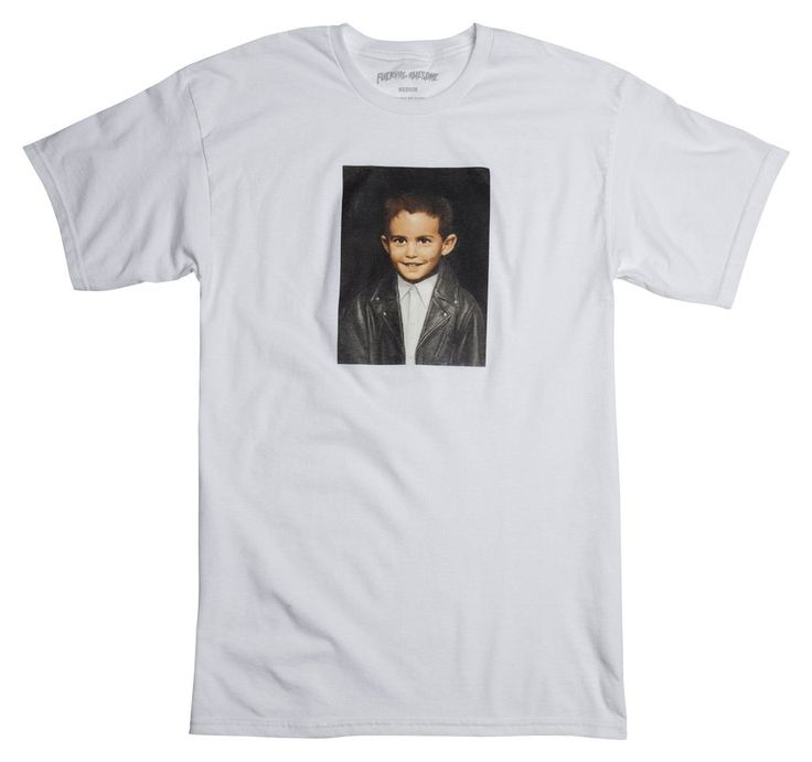 Dylan Painting Tee - White