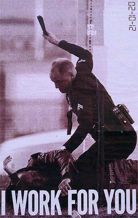 Stop police brutality!