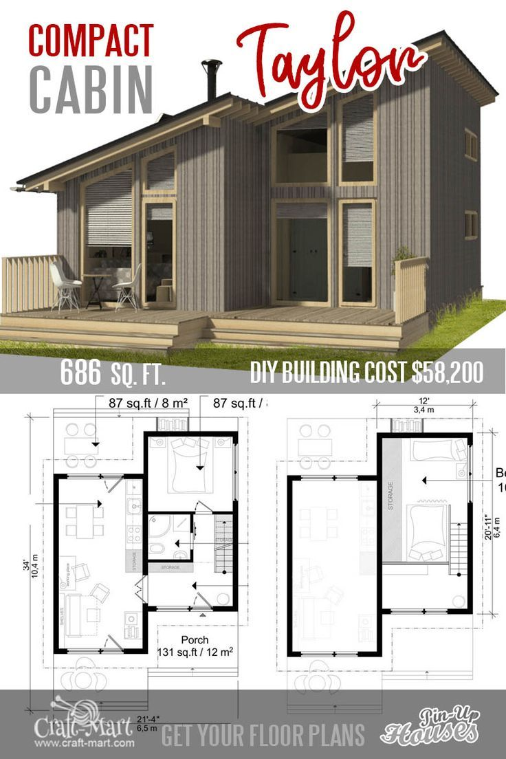 9 Adorable Tiny Home Plans And Designs