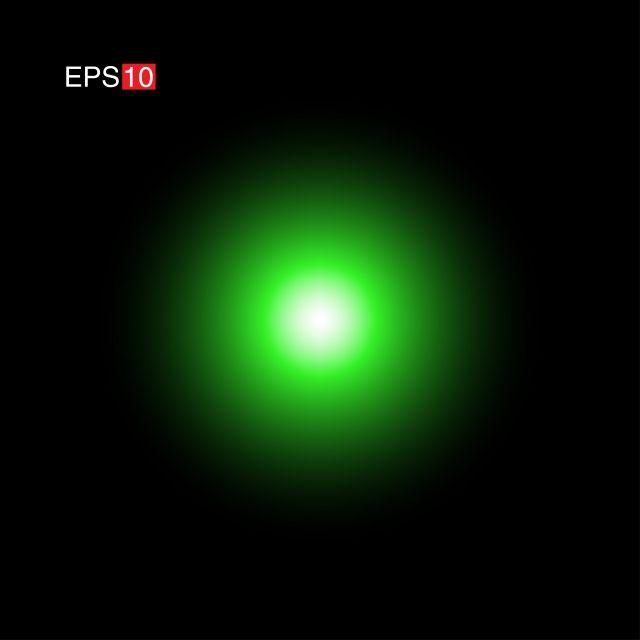 Side Green Lens Flare Camera Lens Lens Lens Flare