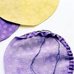 How to Make Fabric Yo-Yos (gathered circles sometimes used for quilts or even just decoration or accents.)