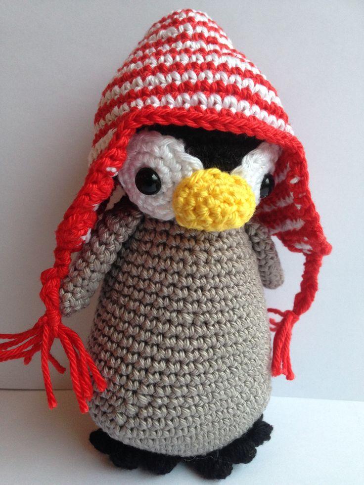 Crochet Pinguïn pattern Christel Krukkert/ Gehaakte Pinguïn