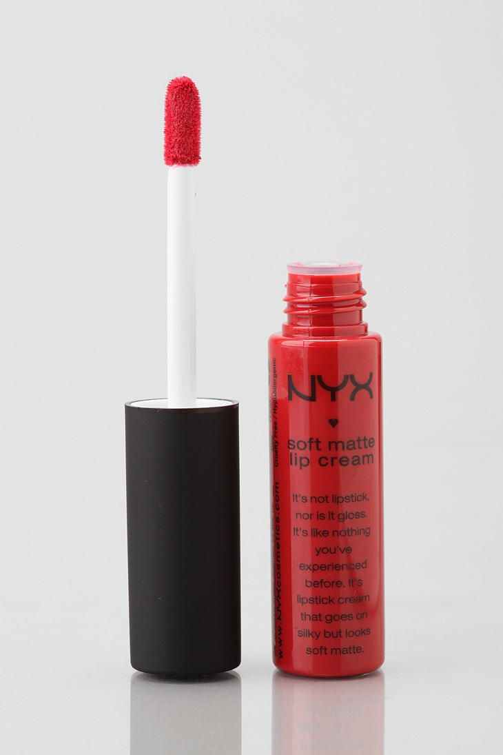 NYX Soft Matte Lip Cream - Amsterdam. I absolutely love this! I wear it all the time.