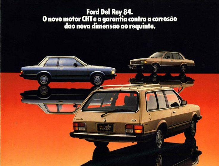 1984 Ford Del Rey - Brasil