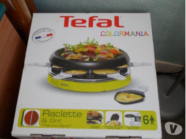 Bonjour je loue mon appareil a raclette de marque téfal colormania qui fait grill pour 6 personnes. #location Appareil a raclette #tefal #Serris (77700)_ www.placedelaloc.com/location/maison-vetements-soin
