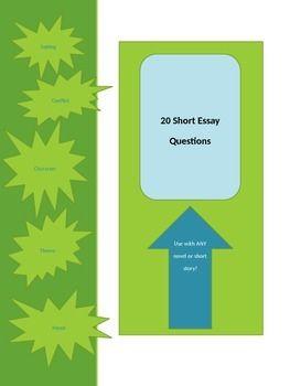 short essay questions hatchet