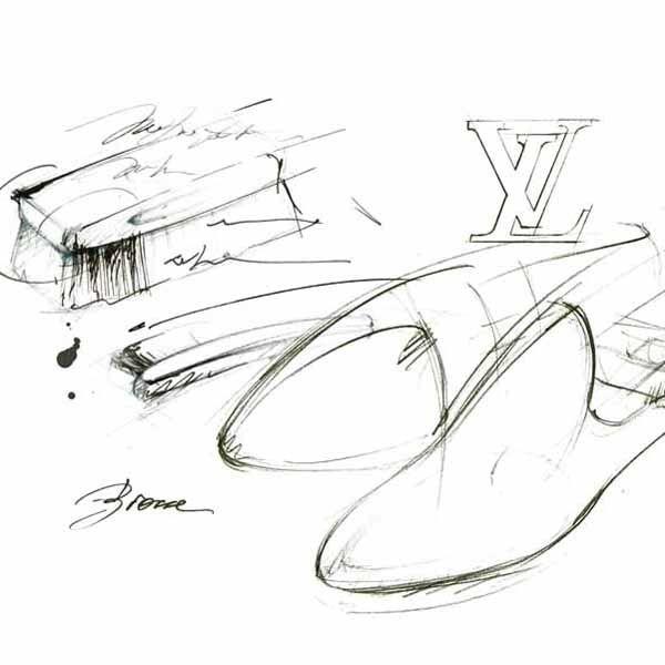 illustration souliers VUITTON  Florence Gendre