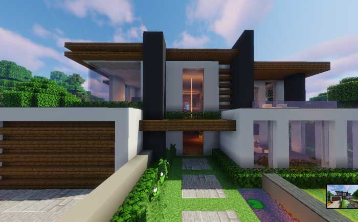 Minecraft House Ideas Here S Our Big List Of Cool Minecraft Houses Awesome Tree House Minecraft Modern Mansion Minecraft House Plans Modern Minecraft Houses