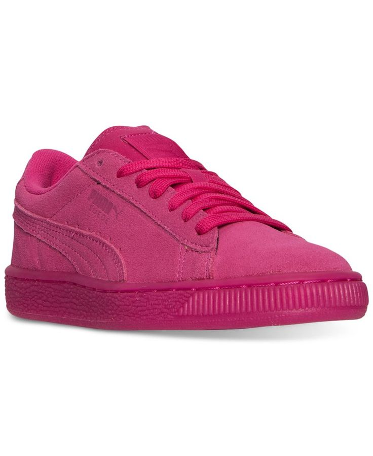 Puma Girls' Suede Iced Casual Sneakers from Finish Line