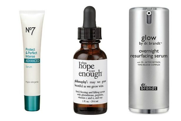 6 Supercharged Anti-Aging Serums for All Budgets -- Packed with vitamins, minerals, retinol and anti-oxidants (just to name a few), serums are supercharged, taking the place of and working better than most anti-aging lotions and creams.