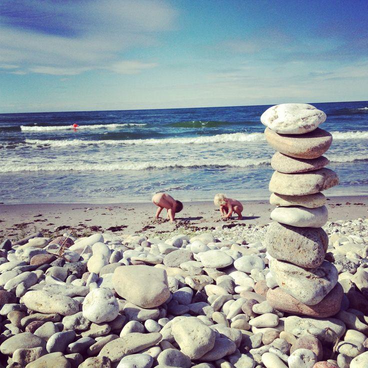Ihre beach at Gotland.