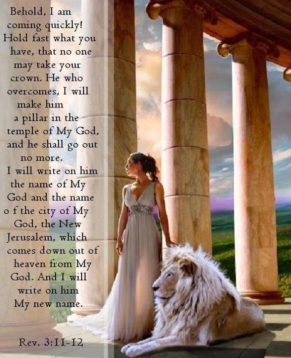 (6) Revelation 3:11-12