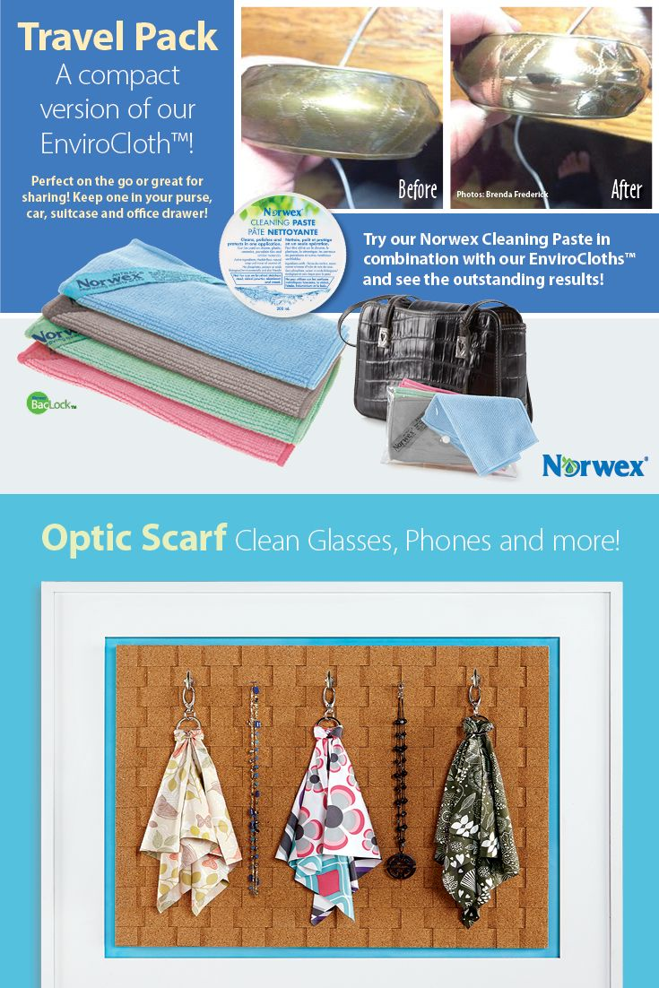 how to use norwex cleaning cloths