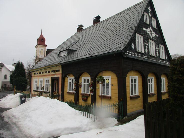 Dřevěnka ve Chřibské - severní Čechy