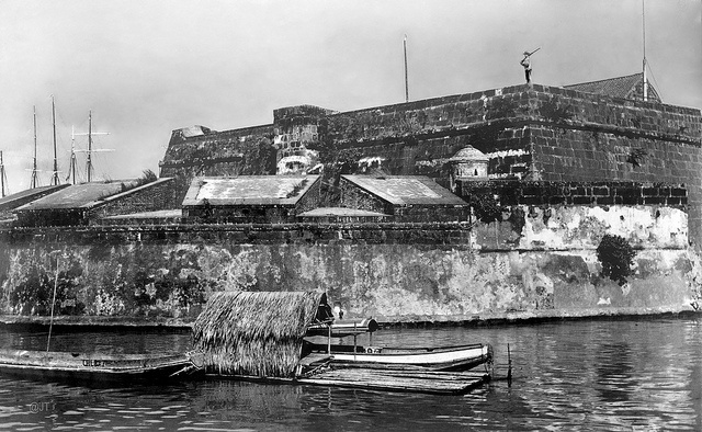 Fort Santiago, Intramuros, Manila, Philippines, 1900-1902 ...
