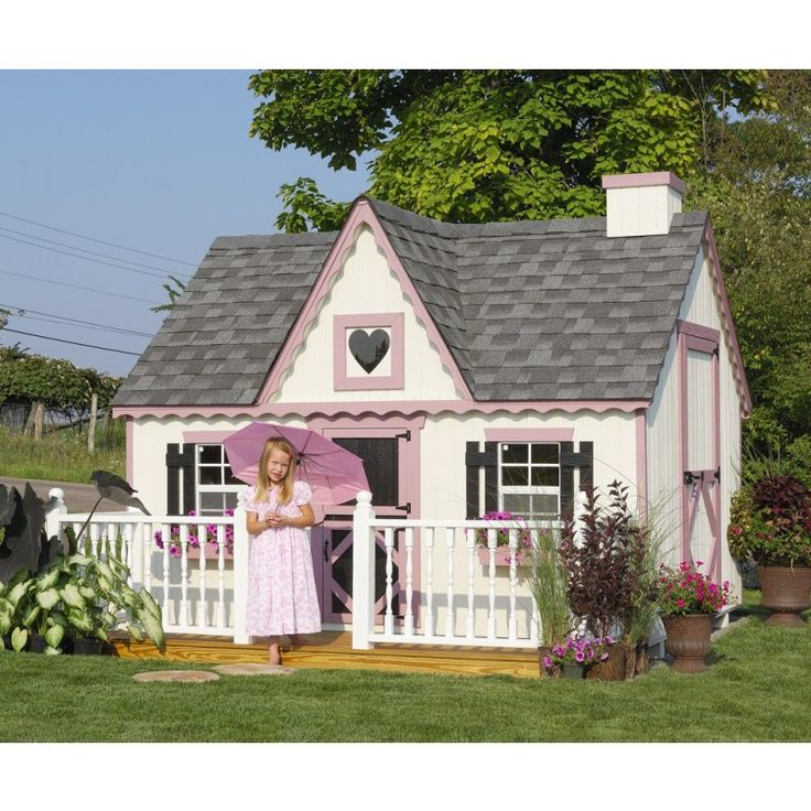 49 Best Amish Playhouses Images On Pinterest Playhouse