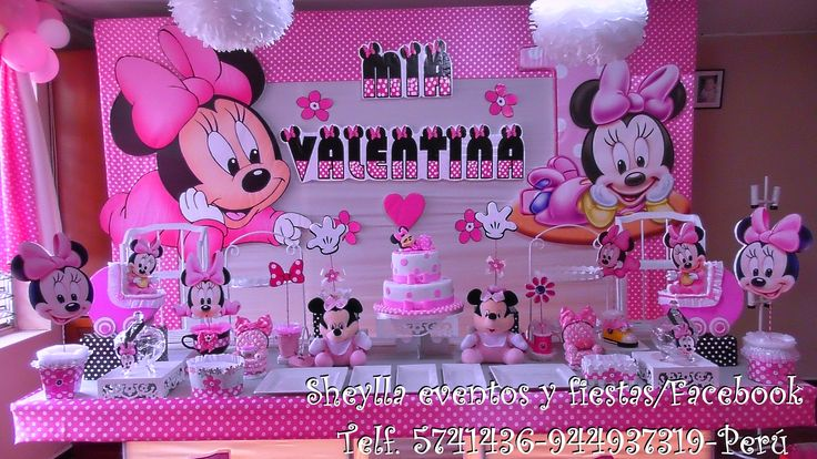 Decoración Minnie bebe