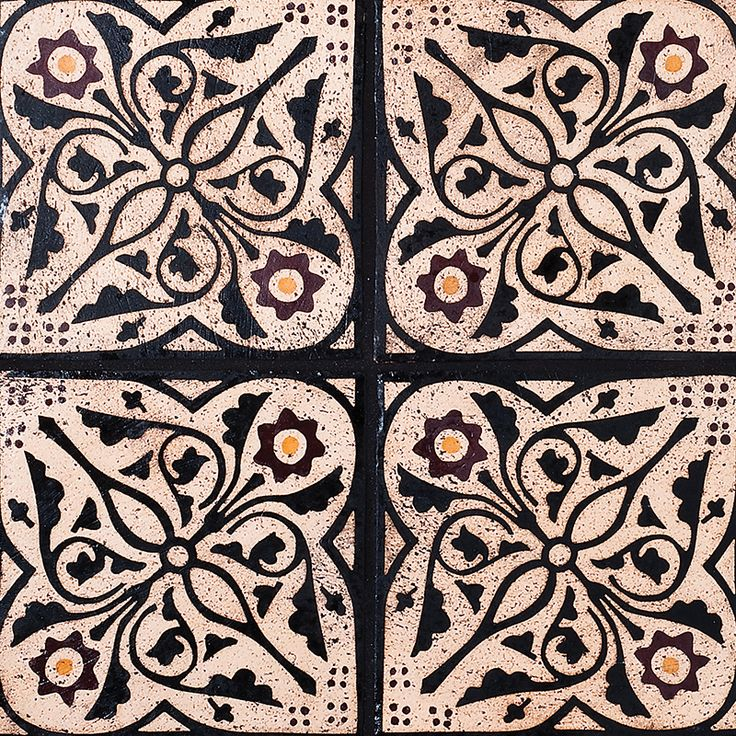 Winchester Sqr Glazed Ceramic Tiles 6x6 - Country Floors of America LLC.
