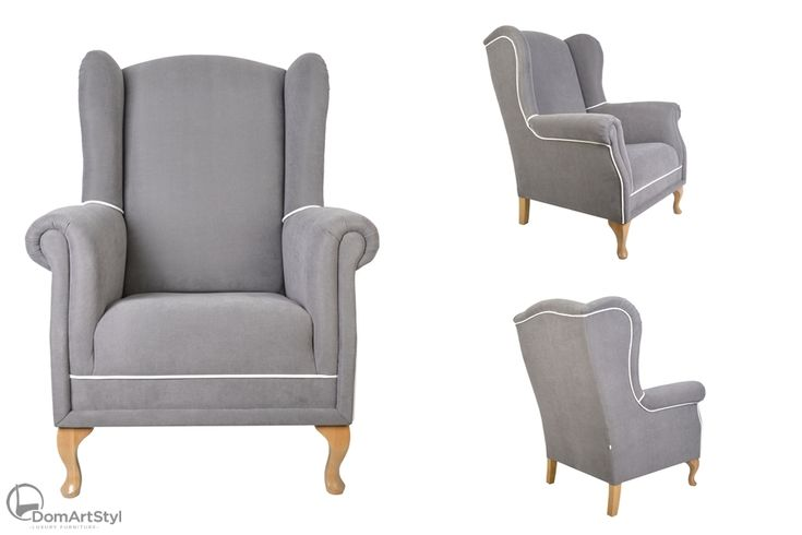#fotel #armchair #wingsback #modern #furniture