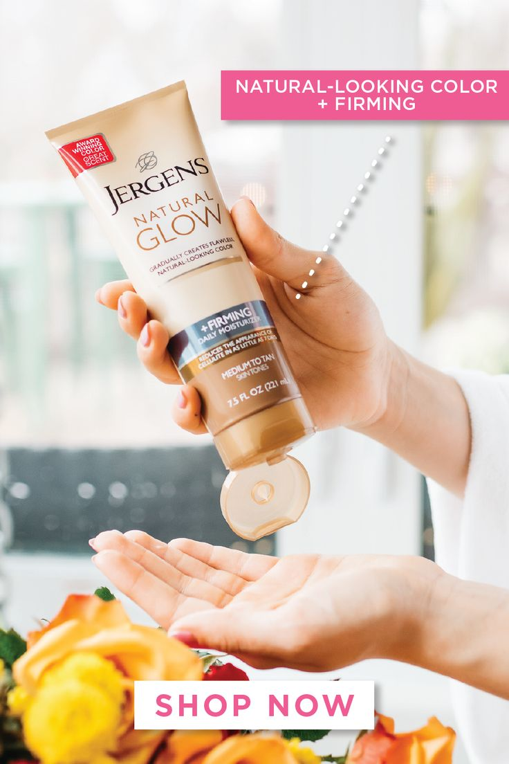 Get ready for your glow up with jergens natural glow