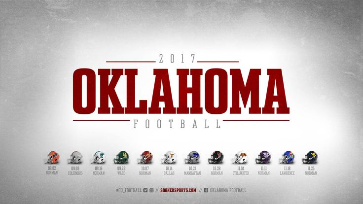Image result for oklahoma sooners football schedule 2017