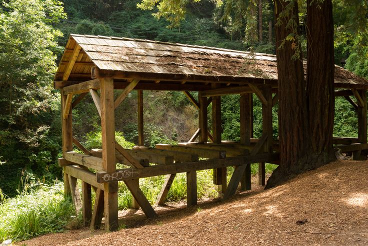 Alte Mühle im Old Mill Park  Mill Valley