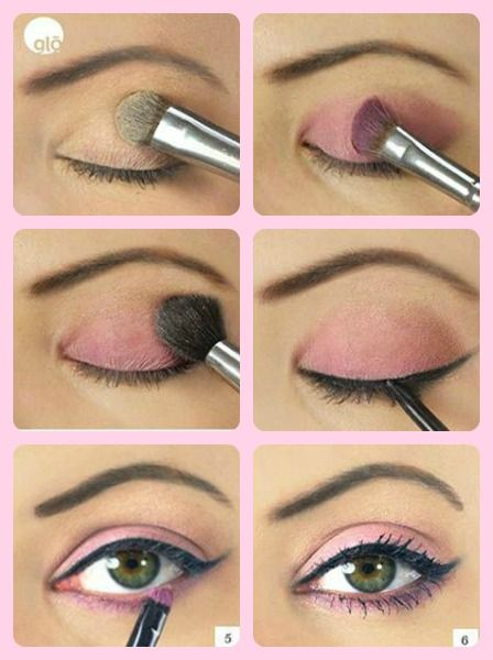 Las 25 mejores ideas sobre maquillaje para el d a a d a en for Pintarse los ojos facil