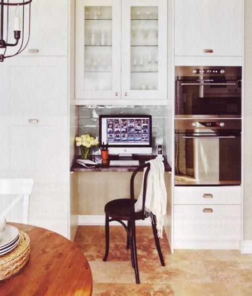 Kitchen Office Nook Plans: Best 25+ Kitchen Office Nook Ideas On Pinterest