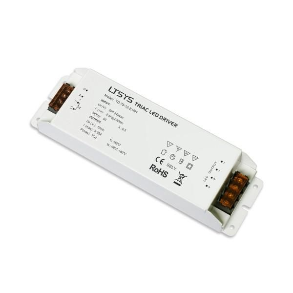 Led Dimmable Power Supply 12vdc 75w Led 12v Led Lights Led Power Supply