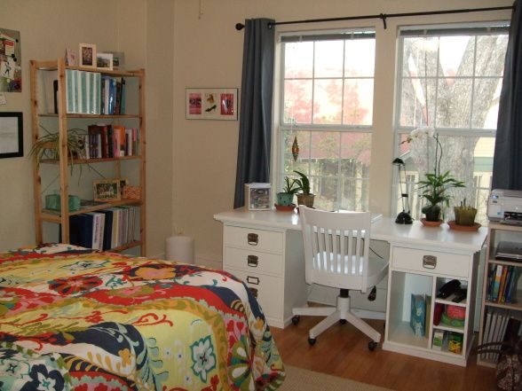 interior design school austin - ollege partment, his is my bedroom and work space at school in ...