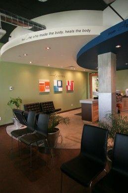 Sticks And Stones Design GroupSummit Chiropractic Interior Green